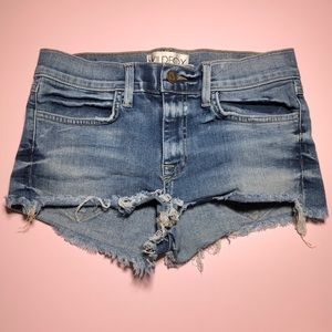 Wildfox raw hem edge denim
